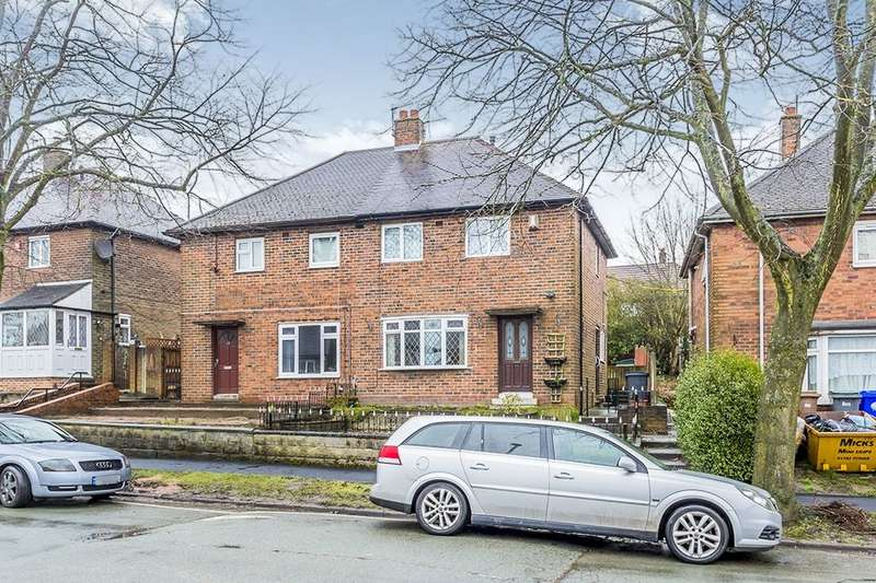 2 Bedrooms Semi Detached House for sale in St. Nicholas Avenue, Norton, Stoke-On-Trent, ST6