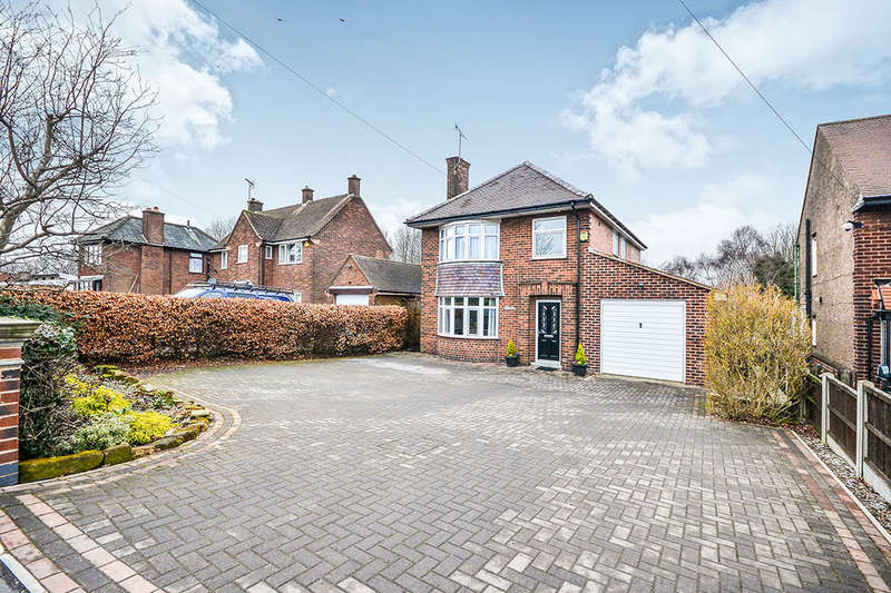 4 Bedrooms Detached House for sale in Ball Hill, South Normanton, Alfreton, DE55