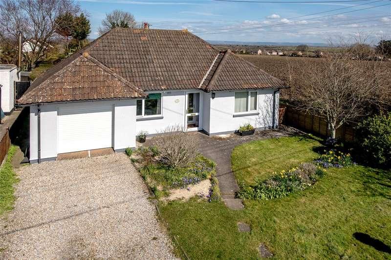 4 Bedrooms Detached Bungalow for sale in Chapel Road, Pawlett, Bridgwater, Somerset, TA6