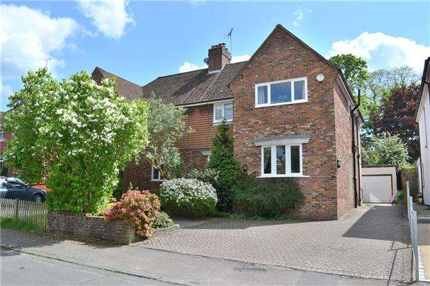 4 Bedrooms Semi Detached House for sale in Pinewood Avenue, SEVENOAKS, Kent, TN14 5AF