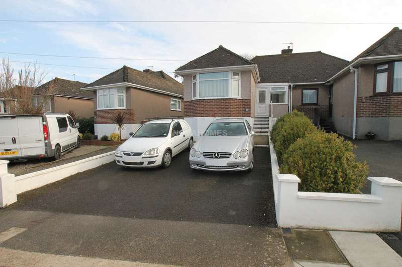 2 Bedrooms Semi Detached House for sale in Vicarage Gardens, St Budeaux, PL5 1LH