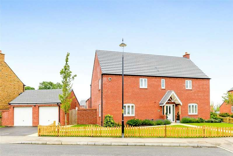 5 Bedrooms Detached House for sale in Pilgrims Lane, Bugbrooke, Northampton, Northamptonshire, NN7