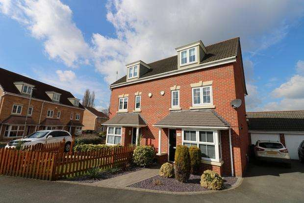 4 Bedrooms Semi Detached House for sale in Harvey Street, Melton Mowbray, LE13