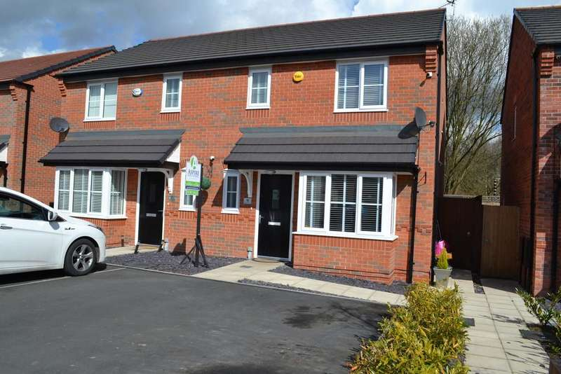3 Bedrooms Semi Detached House for sale in Mulvanney Crescent, St Helens