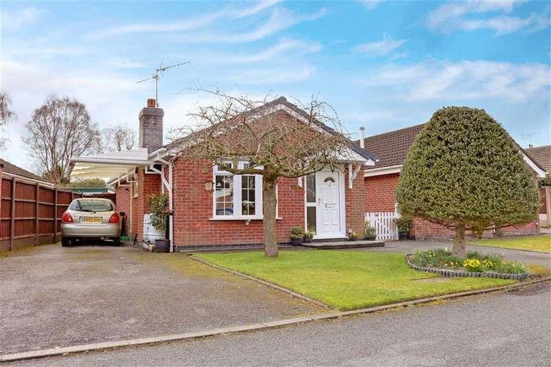2 Bedrooms Detached Bungalow for sale in Waverton Close, Hough, Crewe