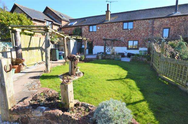 3 Bedrooms Terraced House for sale in Haccombe, Newton Abbot, Devon