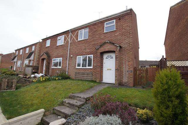 3 Bedrooms Semi Detached House for sale in Bournemouth Road, Blandford St. Mary, Blandford Forum