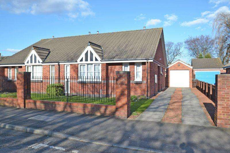 2 Bedrooms Semi Detached Bungalow for sale in Brightman Road, North Shields