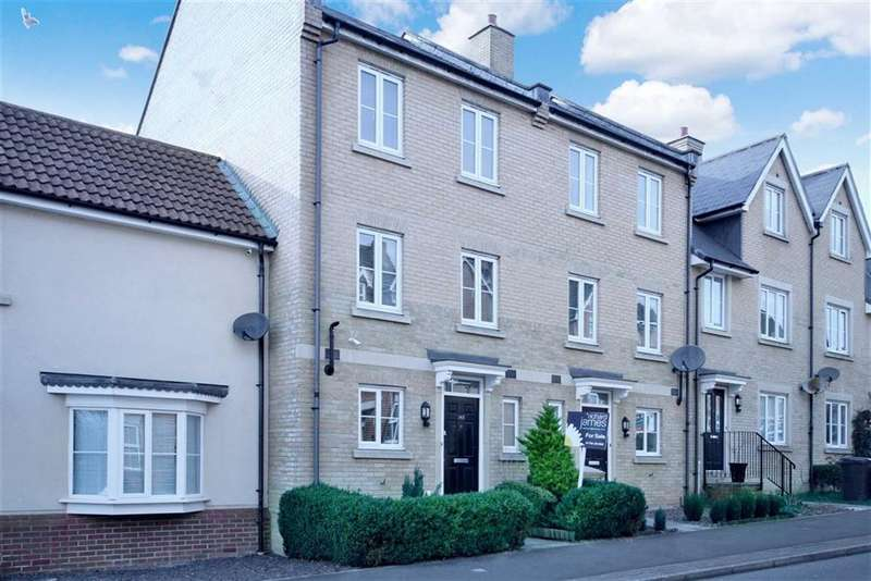 3 Bedrooms Town House for sale in Eastbury Way, Redhouse, Wiltshire