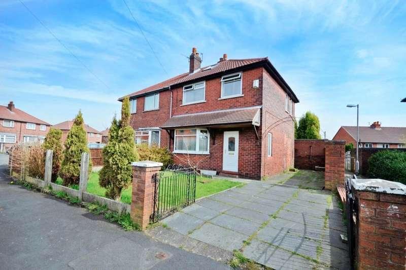 3 Bedrooms Semi Detached House for sale in Crescent Avenue, Farnworth, Bolton, BL4