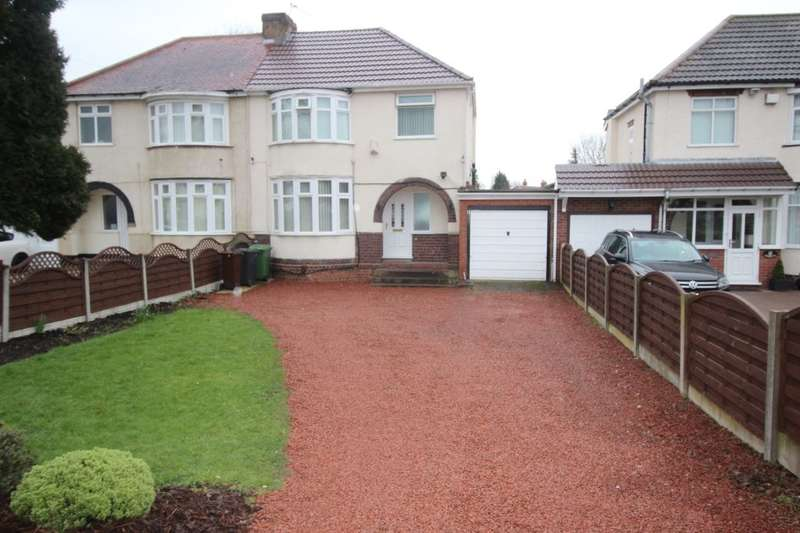 3 Bedrooms Semi Detached House for sale in Long Knowle Lane, Wolverhampton, WV11