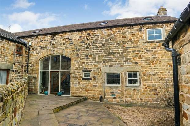 4 Bedrooms Barn Conversion Character Property for sale in Edderthorpe Lane, Barnsley, South Yorkshire
