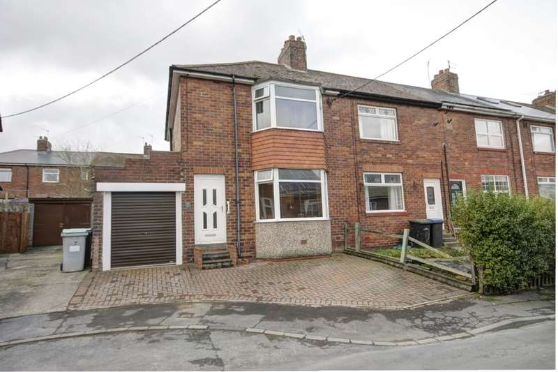 2 Bedrooms Semi Detached House for sale in Cortland Road, Bridgehill, Consett, DH8