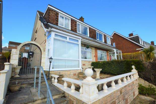 3 Bedrooms Semi Detached House for sale in Waddon Close, Plymouth, Devon