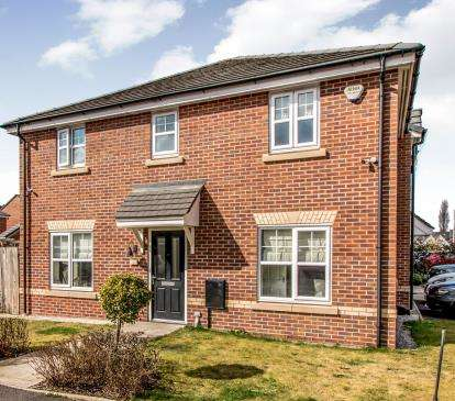 3 Bedrooms Semi Detached House for sale in Roseway Avenue, Cadishead, Manchester, Greater Manchester