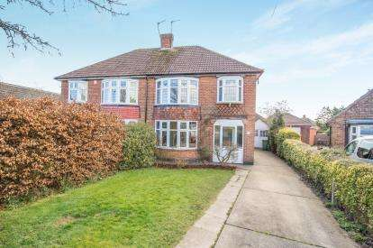 3 Bedrooms Semi Detached House for sale in Newlands Drive, York, North Yorkshire, England