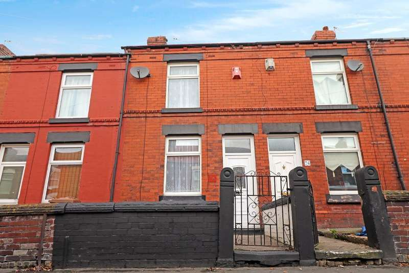2 Bedrooms Terraced House for sale in Edge Street, Thatto Heath, St Helens, WA9 5JX