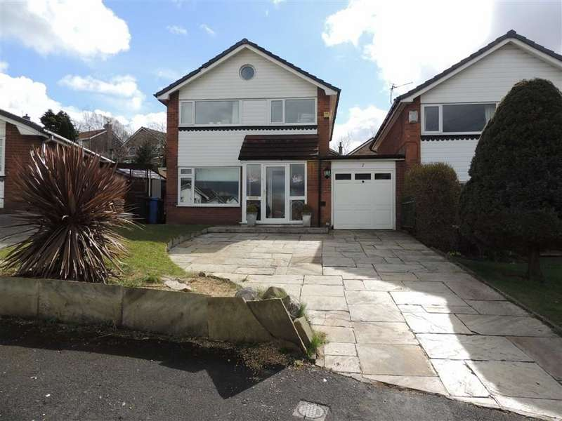 3 Bedrooms Link Detached House for sale in Bempton Close, Offerton, Stockport