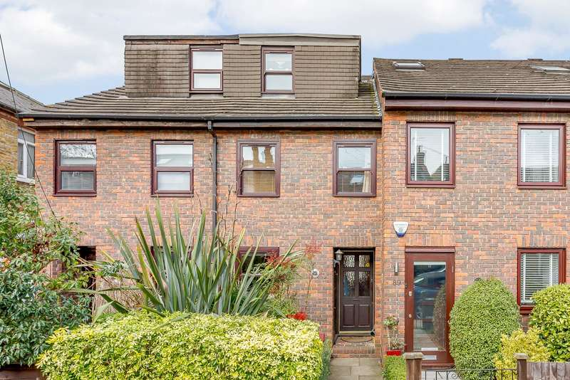 4 Bedrooms Terraced House for sale in Teddington