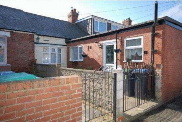 2 Bedrooms Terraced Bungalow for sale in James Street Dipton Stanley