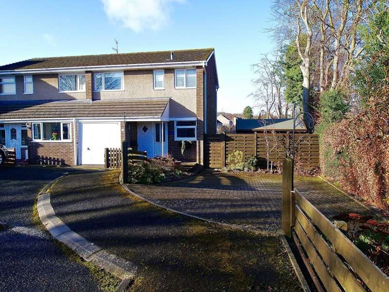 3 Bedrooms Semi Detached House for sale in Cheviot Way, Hexham