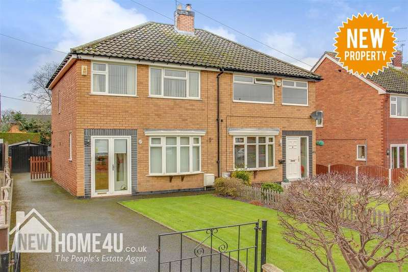 3 Bedrooms Semi Detached House for sale in New Brighton Road, Sychdyn, Mold