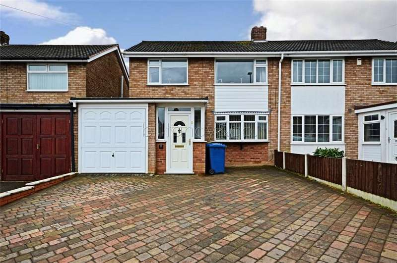 3 Bedrooms Semi Detached House for sale in Slade Avenue, Burntwood, Staffordshire