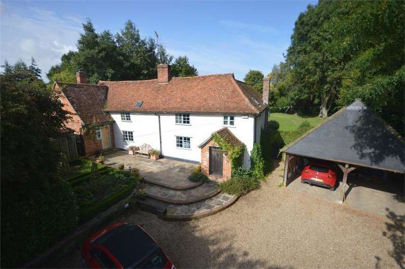 5 Bedrooms Detached House for sale in Old Farm House, Petches Bridge, Great Bardfield, Braintree