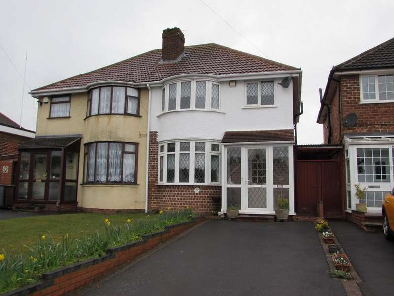 3 Bedrooms Semi Detached House for sale in Lode Lane, Solihull