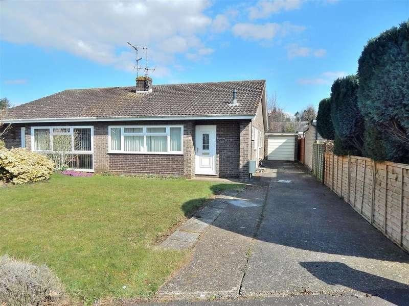 2 Bedrooms Semi Detached Bungalow for sale in Grovelands, Ingoldisthorpe, King's Lynn