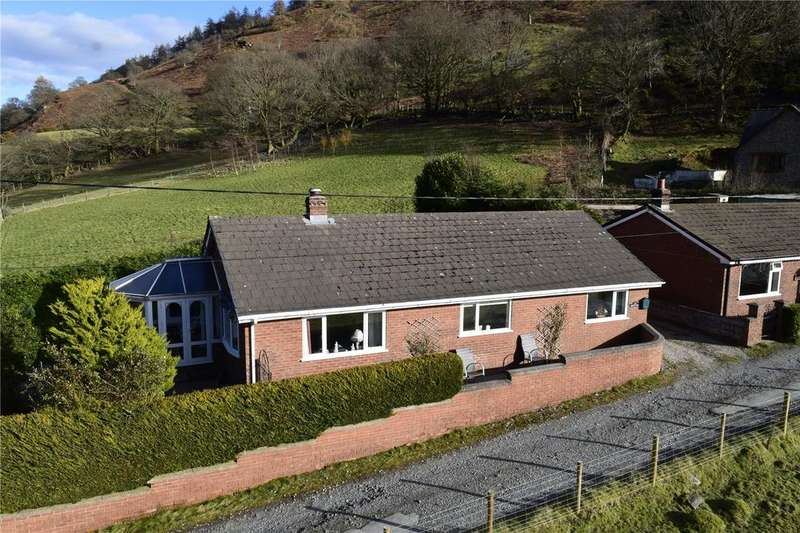 3 Bedrooms Detached Bungalow for sale in Llangynog, Oswestry, Powys