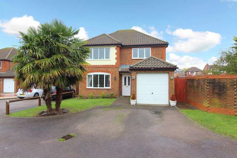 4 Bedrooms Detached House for sale in Lucilla Avenue , Ashford, Kent, TN23 3PS