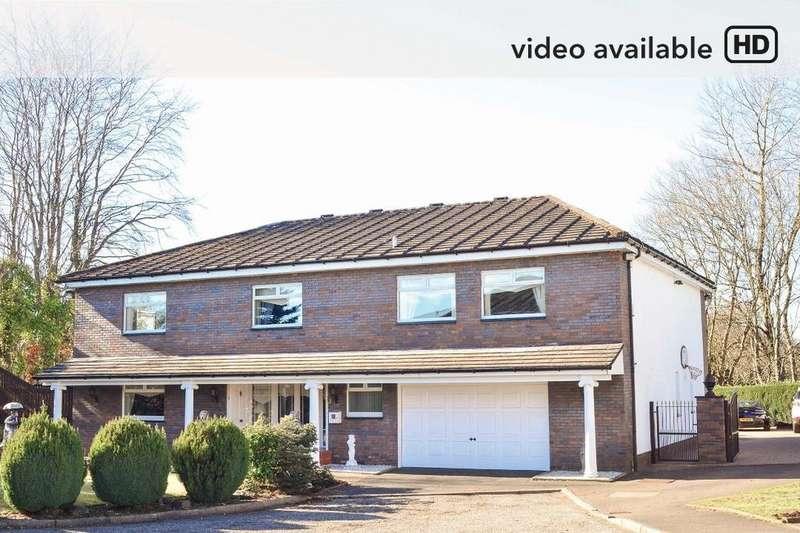 5 Bedrooms Detached House for sale in Blackcroft Gardens, Mount Vernon, Glasgow, G32 0PT