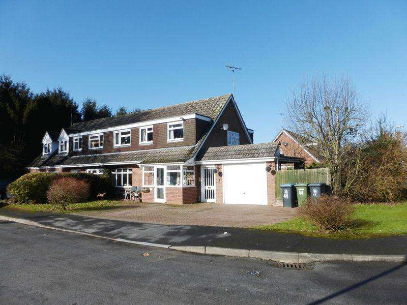 4 Bedrooms Semi Detached House for sale in Fairwater Crescent, Alcester