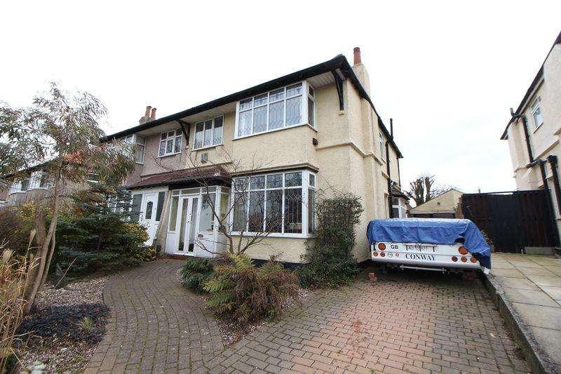 3 Bedrooms Semi Detached House for sale in Hesketh Avenue, Bebington