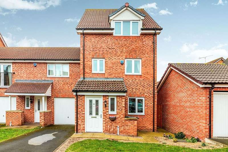 3 Bedrooms Semi Detached House for sale in Leatham Avenue, Rotherham, S61