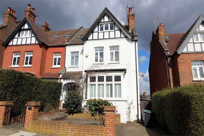 6 Bedrooms Semi Detached House for sale in Onslow Gardens, Muswell Hill/Highgate Borders, N10