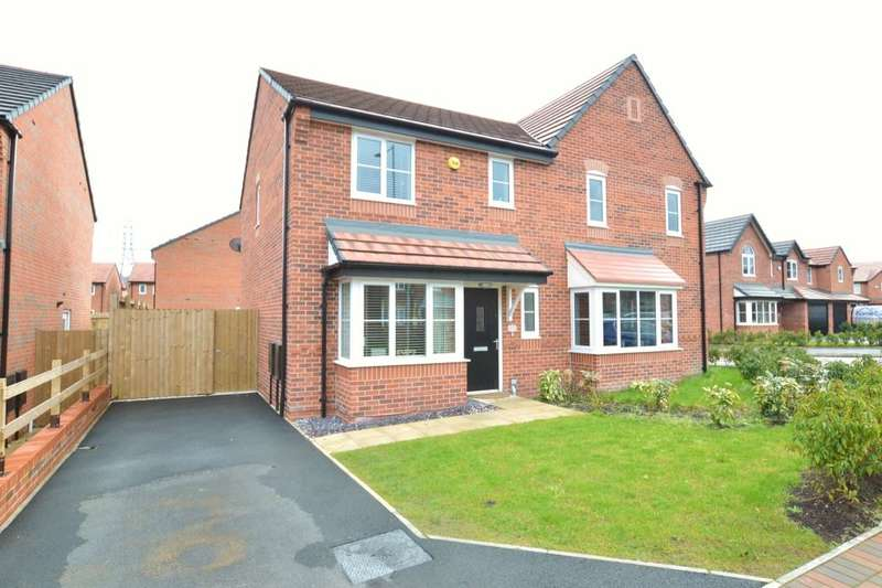 3 Bedrooms Semi Detached House for sale in Wright Close, St. Helens, WA10