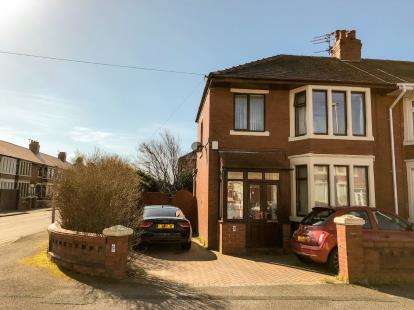 3 Bedrooms End Of Terrace House for sale in Alston Road, Blackpool, Lancashire, England, FY2