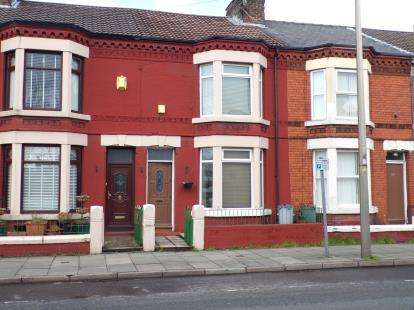 3 Bedrooms Terraced House for sale in Marsh Lane, Bootle, Merseyside, L20