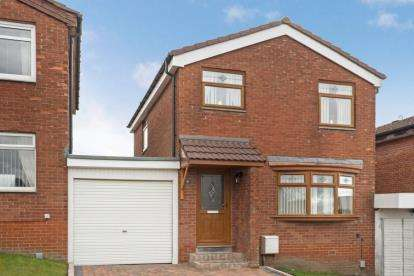 3 Bedrooms Link Detached House for sale in Thornyburn Drive, Baillieston, Glasgow, Lanarkshire