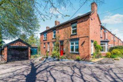4 Bedrooms End Of Terrace House for sale in Park Terrace, Leycett, Newcastle Under Lyme, Staffs