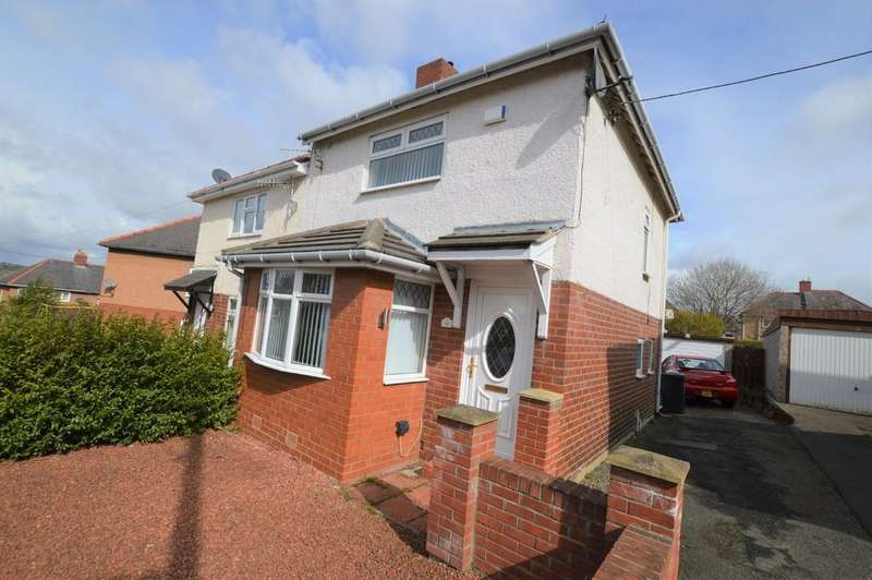 2 Bedrooms Semi Detached House for sale in Masters Crescent, Prudhoe