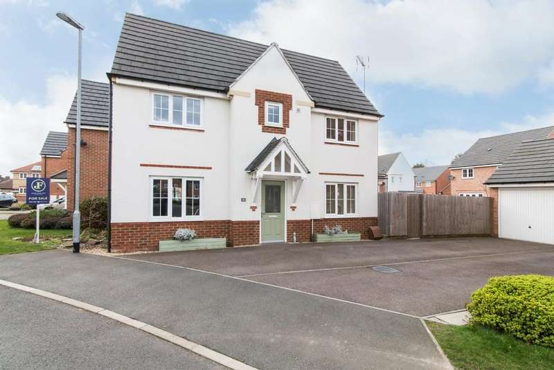 3 Bedrooms Detached House for sale in Perkins Way, Chilwell