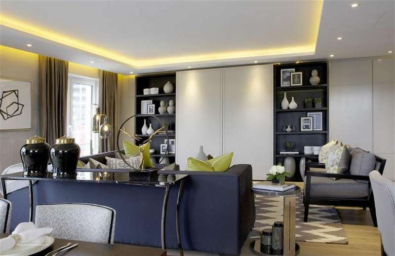 2 Bedrooms Flat for sale in Fulham Reach, London