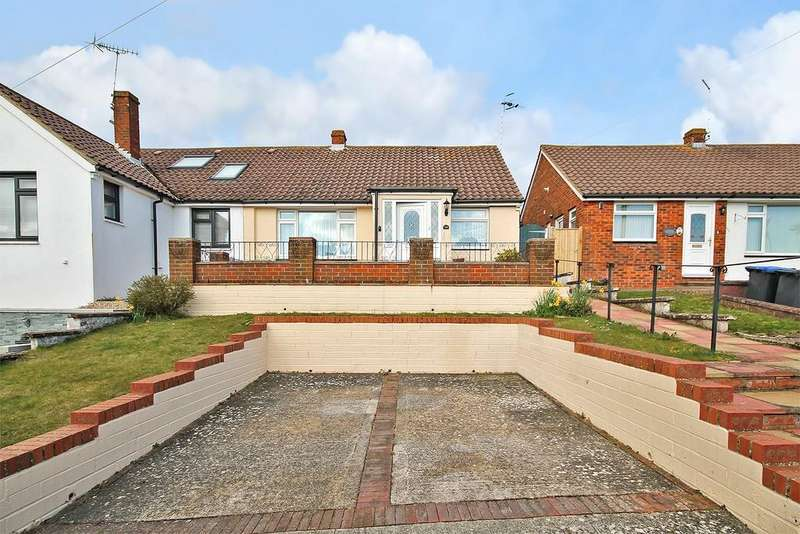 2 Bedrooms Semi Detached Bungalow for sale in Osborne Drive, Sompting