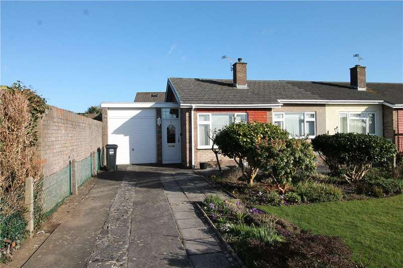 2 Bedrooms Semi Detached Bungalow for sale in Mizzymead, Nailsea, North Somerset, BS48
