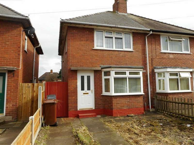 3 Bedrooms Semi Detached House for sale in Broadwaters Road, Wednesbury, West Midlands