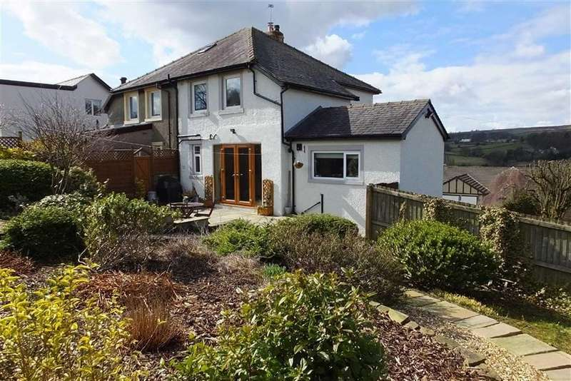 2 Bedrooms Semi Detached House for sale in Skipton Old Road, Foulridge, Lancashire, BB8