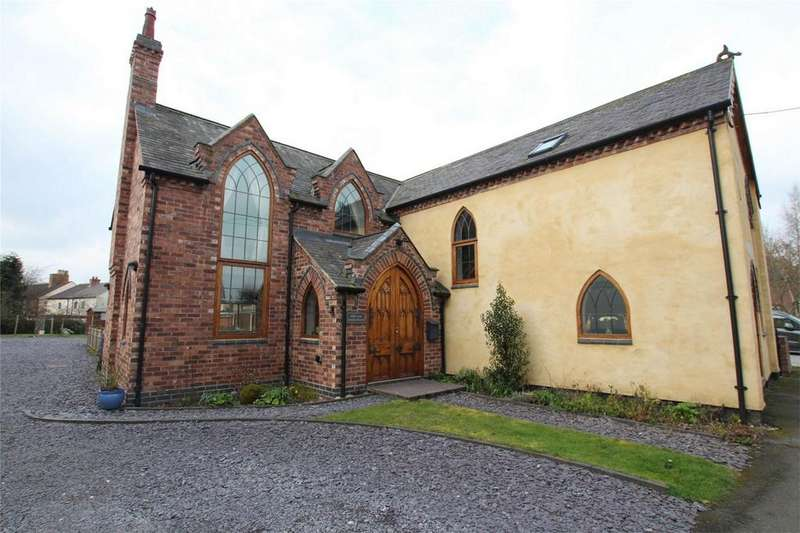 4 Bedrooms Detached House for sale in Chapel Street, Coton in the Elms, Swadlincote, Derbyshire